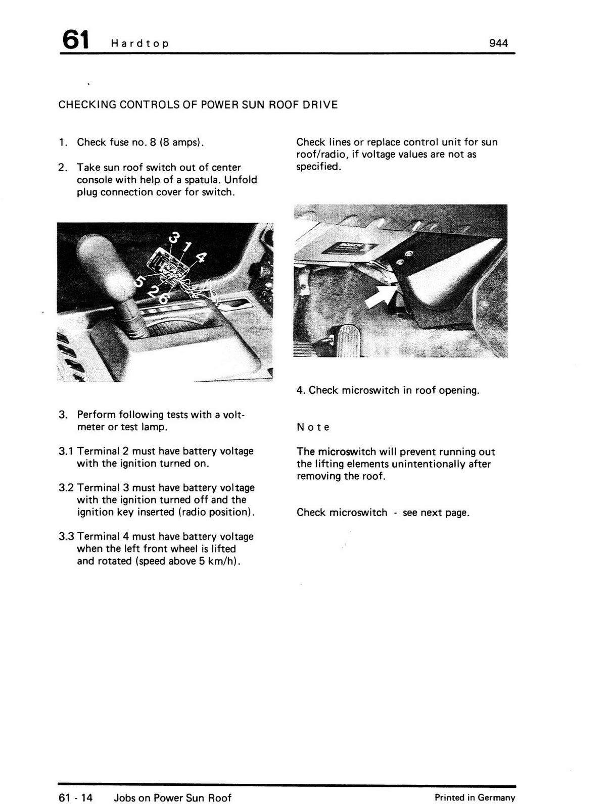 hight resolution of tips for reassembly